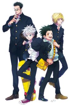 rt your kurapika (@rt_kurapika) | Twitter // gon, killua, leorio, kurapika