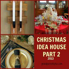 PicMonkey Collage2a1 Christmas Idea House 2013   Part 2