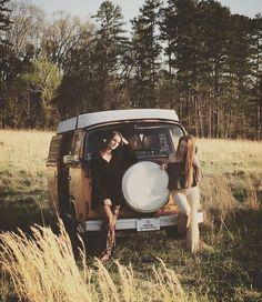 summer dreams in a vw bus