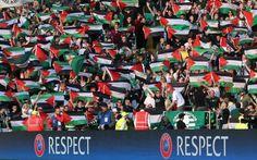La UEFA multa il Celtic per la presa di posizione pro-Palestina dei propri tifosi Importante presa di posizione contro Israele al Celtic Park, dove, durante il preliminare di Champions League tra i padroni di casa ed una squadra israeliana, la curva scozzese ha srotolato decine di #palestina #calcio #multa #solidarietà