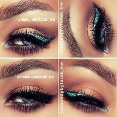 Tiffany Eyeliner Look