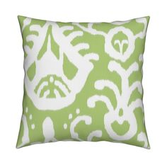 Springy, pear green with white.