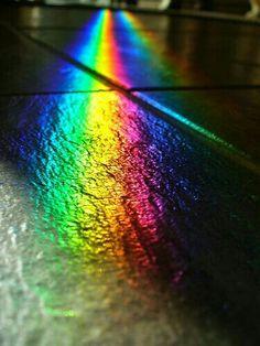 #city lights #rainbow