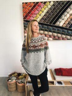 da3a0b05 FREE PATTERN: Ut mot havet -genser - skappelgenseren skappelgenser  skappelstrikk icelandic sweater