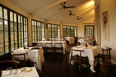 Luxury Restaurant in South Africa: The Roundhouse, Cape Town Luxury Restaurant, Round House, Cape Town, Places To Eat, Fine Dining, South Africa, Restaurants, Table, Furniture