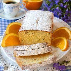 Fantastiskt god sockerkaka med smak av apelsin och kardemumma