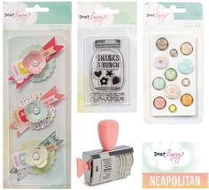 Dear Lizzie Neapolitan: already pinned the roller stamp, but now I'm eyeing that mason jar clear stamp!