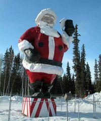 Santa Claus House!   Santa returns from winter break May 28th - perfect timing!