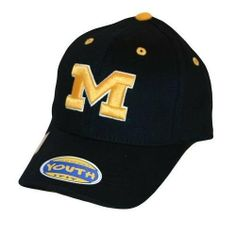 NCAA Michigan Wolverines Child One-Fit Hat, Navy Top of the World. $16.21. Save 38% Off!