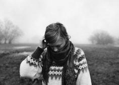 wintry haze, sweater days.