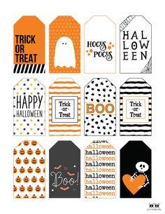 Halloween Decorations For Kids, Halloween Arts And Crafts, Halloween Activities For Kids, Diy Halloween Costumes For Kids, Halloween Treat Bags, Halloween Tags, Halloween Goodies, Theme Halloween, Halloween Stickers