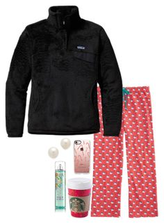 """Christmas haul pt 1 RTD"" by pandapeeper ❤ liked on Polyvore featuring Patagonia, Casetify and Kenneth Jay Lane"
