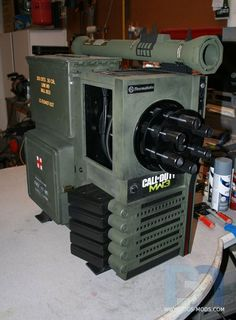 Call of Duty Modern Warfare 3 - I really like this custom mod on this computer case :-)