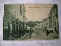 REQUENA,VALENCIA.PLAZA DE CANALEJAS. - Foto 1