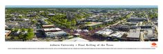Auburn - Final Rolling of the Oaks Panoramic - Toomers Corner Aerial Picture