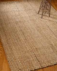 NaturalAreaRugs Castillian Hand Woven Jute Rug, by Free and Same Day Shipping within Continental USA.