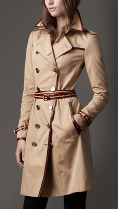 A classic trench. But no Inspector Gadget here. Burberry.