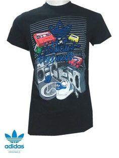 Adidas Originals T Shirt Music 50% SALE - Street Fashion Sportswear & Gifts [SFSG]