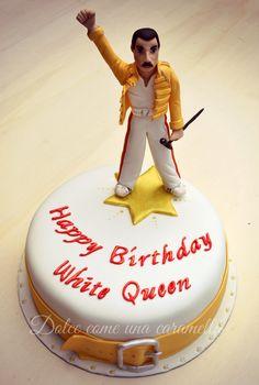 Queen Birthday, 9th Birthday, Birthday Cake, Freddie Mercury Birthday, Freedie Mercury, Queen Cakes, Rock Queen, Queen Freddie Mercury, Dream Cake