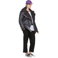Acne Studios - Grey Shearling Velocite Jacket