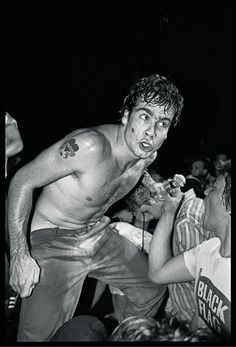 The Man Behind the Most Iconic Portraits of Skaters, Punks, and Rappers | Henry Rollins of Black Flag. 1982.  Glen E. Friedman  | WIRED.com