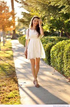 Hapa Time romantic white dress