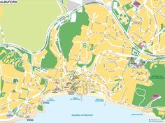 Click on the Albufeira map to enlarge and download a printable version!