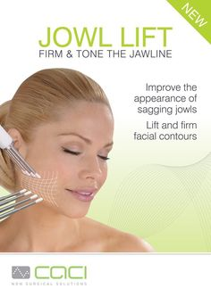 Need to give your face a lift?? CACI Jowl lift treatment non-surgical muscle lift and toning #caci #cacitreatments #cacifacials #antiaging #facials #filleralternative