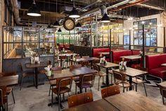 HBC Birmingham Grand Central by Brown Studio - Restaurant & Bar Awards Winner 2016