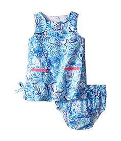 Lilly Pulitzer Kids Baby Lilly Shift Dress (Infant)