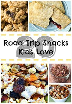 Make these delicious road trip snacks before your next family adventure – you're kids will love them!