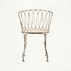 Iron Chair from Arhause