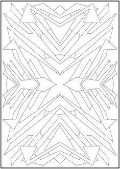 Creative Haven Abstract Designs Coloring Book