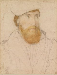 Hans Holbein the Younger, An unidentified man (ca. 1532-43, Royal Collection, London)