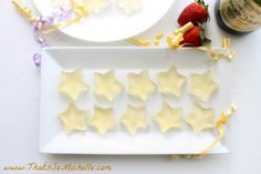 Peach and Vanilla Champagne Jello Shots ..... pr make this nonalcoholic for the kiddies.... perfect for a Wish upon a Star party theme.