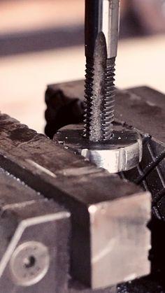 DIY Steel Ruler Gauge Marking Gauge, Diy Tools, Ruler, Gauges, Metal Working, Steel, Projects, How To Make, Ideas