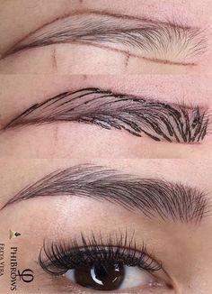 Eyebrow Styles, Eyebrow Design, Permanent Makeup Eyebrows, Eyebrow Makeup, Eyebrows Sketch, Eyebrow Template, Makeup Illustration, Brow Wax, Perfect Brows