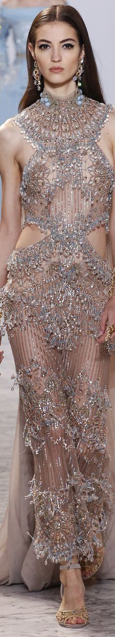 Nolond Fashion: Elie Saab Spring 2017 Couture collection, beauty, models, Ready-to-Wear collection. Couture Fashion, Runway Fashion, Fashion Show, Fashion Design, Women's Fashion, Camille Hurel, Mode Glamour, Elie Saab Spring, Elie Saab Couture