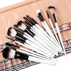 LaiFeiYa  20 PCS Professional Make up Brush Sets Beauty Cosmetic Brush with Bag red ** Check out this great product.