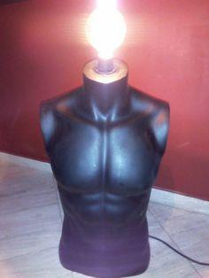 mannequin floor lamp