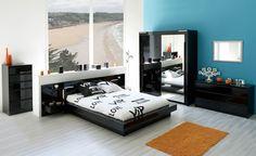 Id es de d corations de chambre on pinterest - Camif bed frame ...