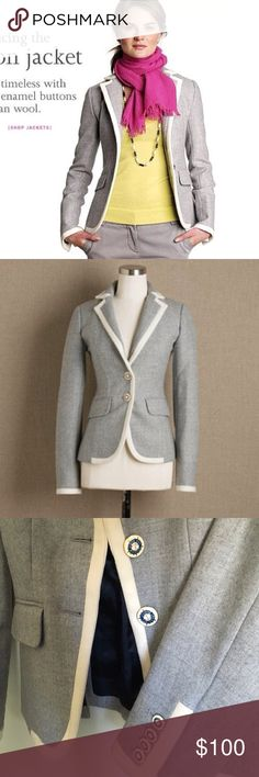 J Crew Lexington Jacket Size 6 EUC, gorgeous details, favorite piece! J. Crew Jackets & Coats Blazers