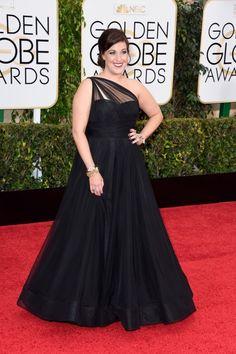 Allison Tolman at the 2015 Golden Globes.