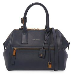 Marc Jacobs Medium Incognito in Navy with Antique Gold