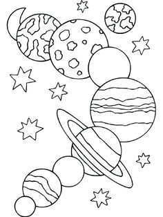 Solar System Coloring Pages - Planet Coloring Pages Collection Planet Coloring Pages Collection. There are various ways to introduce the planet and solar system to your child. One of them is to use planets and solar system coloring pages. Planet Coloring Pages, Space Coloring Pages, Coloring Sheets For Kids, Coloring Pages To Print, Free Printable Coloring Pages, Coloring Pages For Kids, Coloring Books, Preschool Coloring Pages, Fairy Coloring