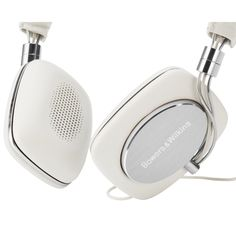 pretty white headphones for mobile lifestyle | headphones & speakers . Kopfhörer & Lautsprecher . casque/écouteur & enceintes |  @ Bowers & Wilkins |