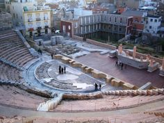 Teatro Romano de Cartagena, Murcia. 2012