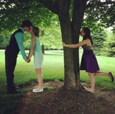 Third wheel for life.  @Emily Schoenfeld Schoenfeld Hough Thought of you(=                        <3