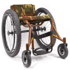 Invacare® Crossfire All Terrain Wheelchair. It looks cool but it's also fairly heavy. Manual Wheelchair, Drift Trike, Spinal Cord Injury, Crossfire, Looks Cool, Kayaking, Baby Strollers, Wheelchairs, Bike