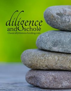 Diligence is a critical component of scholé. Why?